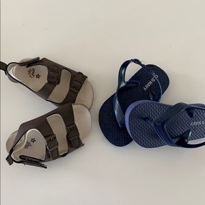 Baby Sandals Two Pair